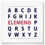Canción de Alphapbet ELEMENO del inglés Arte Con Fotos