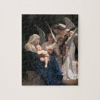 Canción de ángeles Bouguereau arte del Victorian Rompecabezas Con Fotos