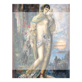 """Canción de canciones de Gustave Moreau Folleto 8.5"""" X 11"""""""