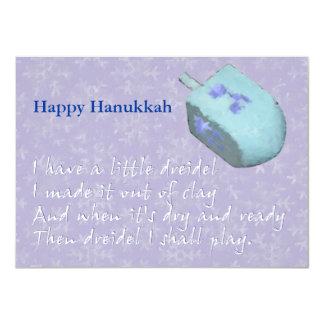 Canción de Dreidel Chanukah (Jánuca) Comunicado Personalizado