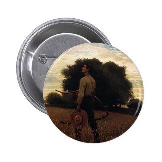 Canción de la alondra de Winslow Homer Pin
