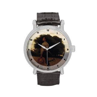 Canción de la alondra de Winslow Homer Relojes De Pulsera
