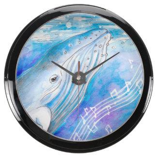 Canción de la ballena relojes acuario