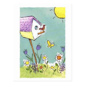 Canción de la buena mañana postales
