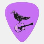 canción de la guitarra del cuervo púa de guitarra