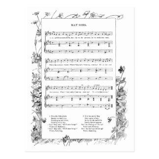 Canción de la primavera de las violetas y de los r
