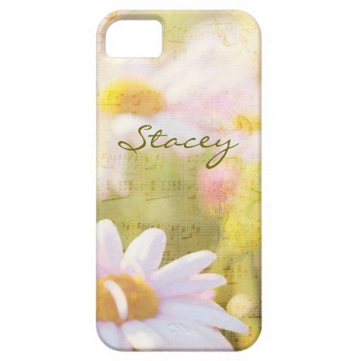 Canción de la primavera I - preciosa palidezca - a iPhone 5 Protectores