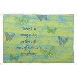 Canción de las mariposas mantel