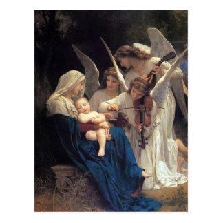 Canción de los ángeles de Guillermo Adolfo Bouguer Tarjetas Postales