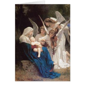Canción de los ángeles - navidad de Guillermo Tarjeta De Felicitación