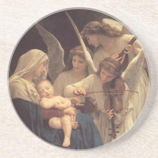 Canción de los ángeles - ornamento posavasos para bebidas