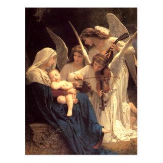 Canción de los ángeles postal