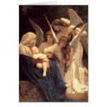 Canción de los ángeles tarjeton