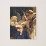 Canción de los ángeles, William-Adolphe Bouguereau Rompecabezas