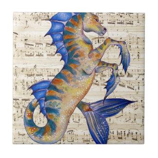 Canción de los océanos tejas  ceramicas