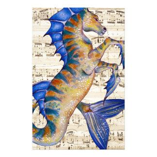 Canción de los océanos papelería personalizada