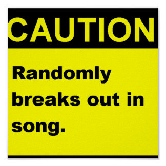 Canción de Randmon Posters