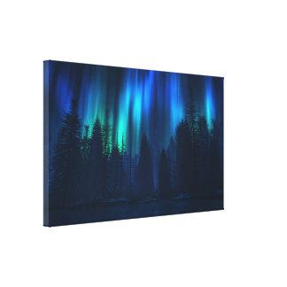 Canción del cielo (2007) lona estirada galerias