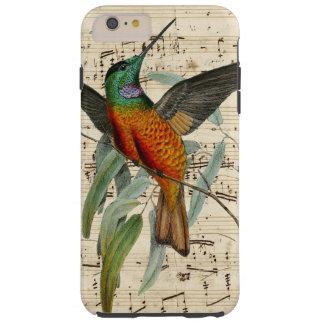 Canción del colibrí funda para iPhone 6 plus tough