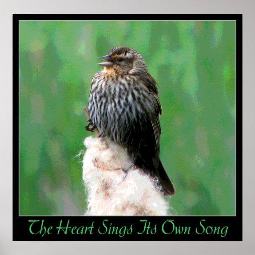 Canción del corazón poster