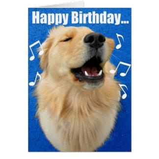 ¡Canción del feliz cumpleaños a USTED! Tarjeta De Felicitación