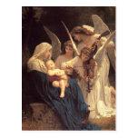 Canción del navidad de Jesús del bebé de los ángul Tarjetas Postales