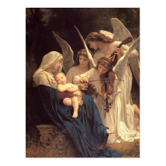 Canción del navidad de Jesús del bebé de los Postales