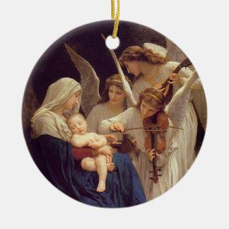 Canción del ornamento de los ángeles adorno de reyes