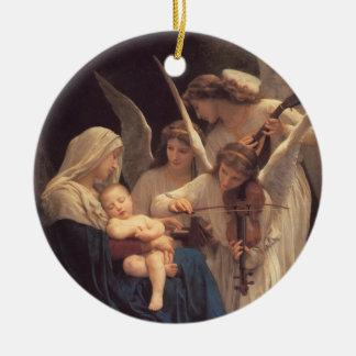 Canción del ornamento religioso del navidad de los adornos