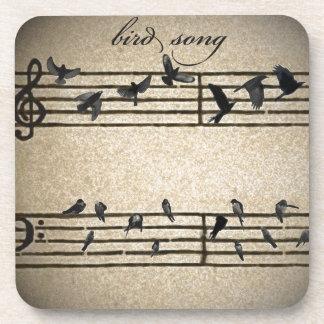canción del pájaro apoyavasos