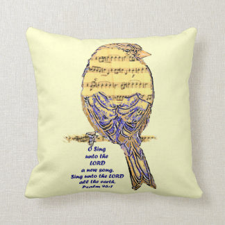 Canción inspirada del pájaro de la cita de la escr