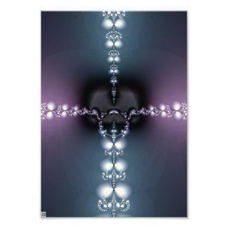 Canción púrpura arte con fotos