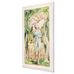 """Canciones de la inocencia; """"el gaitero"""", 1789 lienzo envuelto para galerías"""