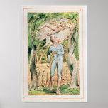 """Canciones de la inocencia; """"el gaitero"""", 1789 póster"""