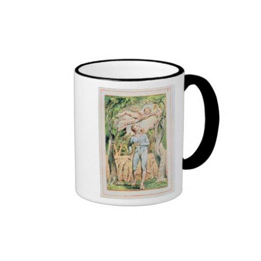 """Canciones de la inocencia; """"el gaitero"""", 1789 taza de dos colores"""