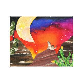 Canciones de la noche impresion de lienzo