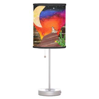 Canciones de la noche lámpara de escritorio