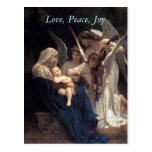 Canciones de los ángeles, postales del navidad