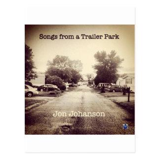 Canciones de un parque de caravanas tarjetas postales