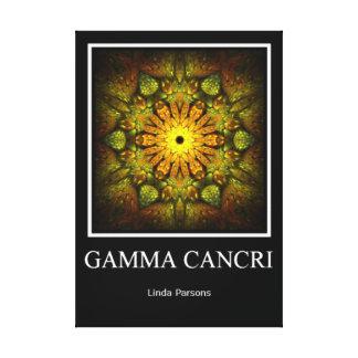 Cancri gamma impresiones en lienzo estiradas