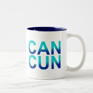 Cancun 1 Two-Tone coffee mug
