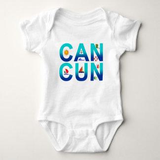 Cancun 2 baby bodysuit