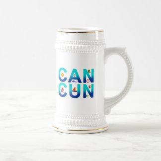 Cancun 2 beer stein