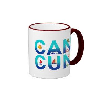 Cancun 2 mugs
