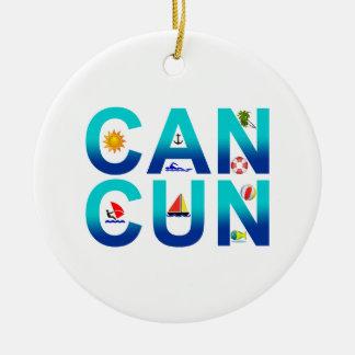 Cancun 2 ornaments