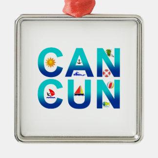 Cancun 2 ornament