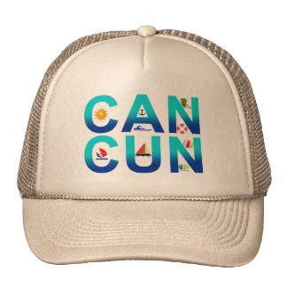 Cancun 2 trucker hat