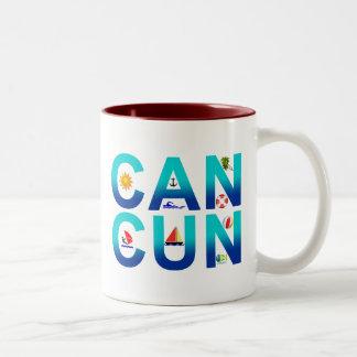 Cancun 2 Two-Tone coffee mug