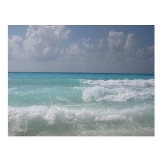 Cancun agita la postal