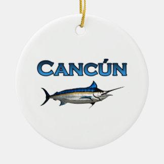 Cancun Blue Marlin Ornament
